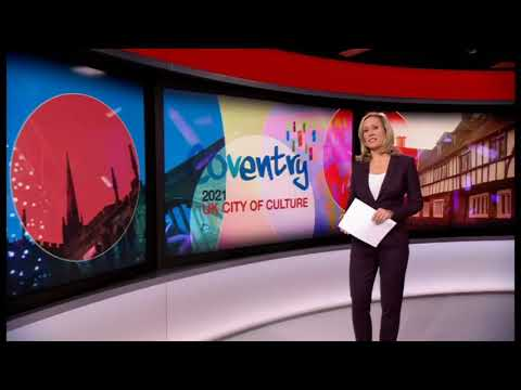 Coventry wins UK City of Culture 2021 - BBC News at Ten
