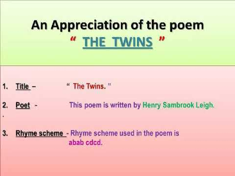 Poems Of Appriciation 3