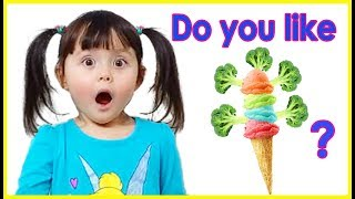 Do You Like Broccoli Ice Cream? | Super Simple Songs