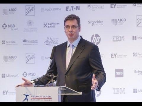 Business Luncheon with Prime Minister Aleksandar Vučić, 20.06.2014.