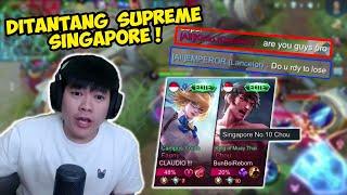 Ajang Pembuktian Mantan Top 1 Global Lancelot ke Para Player Singapore! - Mobile Legends