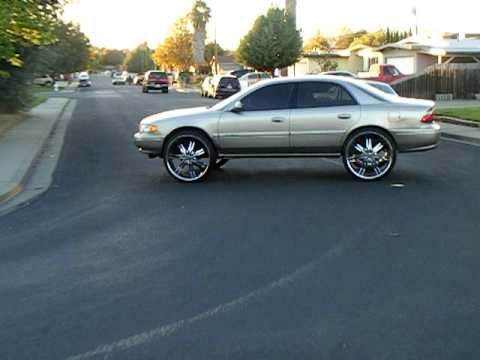 buick century on 26s - YouTube