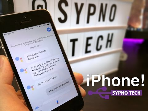 Thumbnail: Google Assistant on Apple iPhones