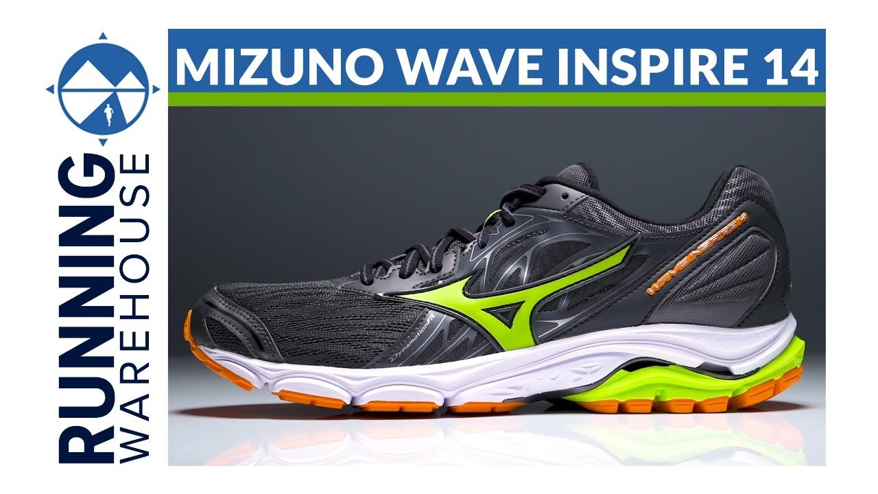 Mizuno Wave Inspire 14 - YouTube 74145b7eb3