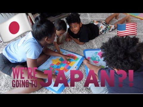 WE'RE GOING TO JAPAN ?! :  Ambw Interracial Family / Tokyo Meets Brooklyn (日本語字幕)