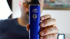 Trying out the V2 Pro Series 7 - Loose Leaf Dry Herb Vaporizer