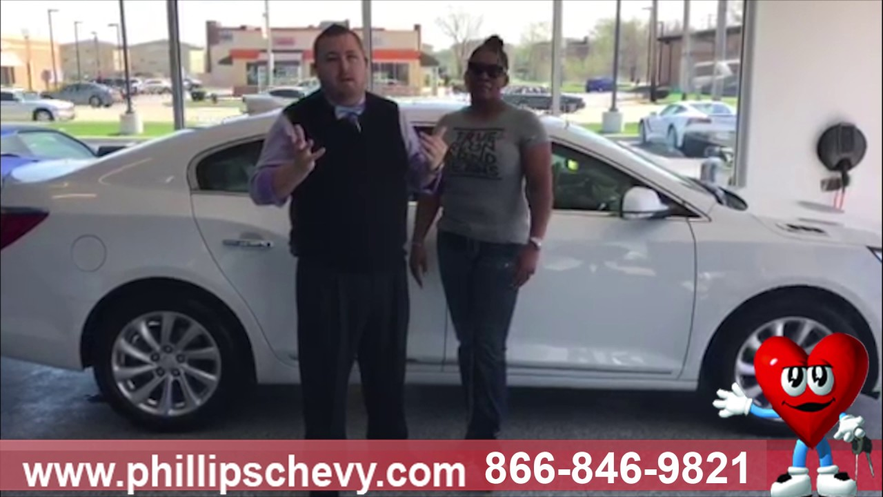 Buick LaCrosse Customer Review Phillips Chevrolet Used Car - Chicago buick dealer
