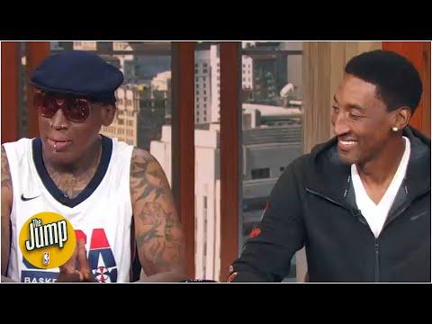 [FULL] Dennis Rodman & Scottie Pippen on MJ, the Bulls' dynasty, the Pistons rivalry & KD | The Jump