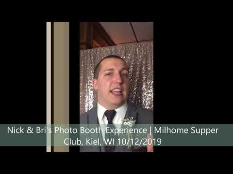Nick + Bri's Photo Booth Experience Sound Sensations Entertainment