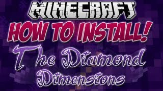 "How to Install ""The Diamond Dimensions"" Minecraft Modpack!"