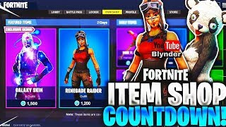 'NOUVEAU' FORTNITE ITEM SHOP AUGUST 4TH NEW SKINS! - Fortnite Battle Royale En direct