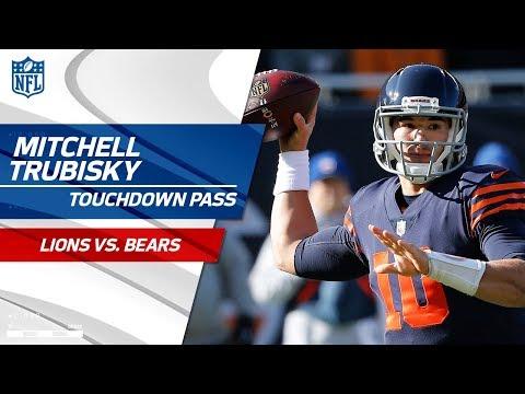 Bears Force Fumble & Howard's Run Sets Up Trubisky's TD Pass!   Lions vs. Bears   NFL Wk 11