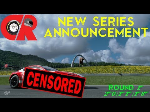 NEW RACING SERIES ANNOUNCEMENT! (Gran Turismo Sport) thumbnail