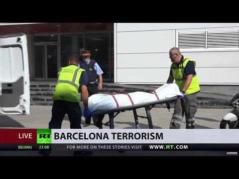 Knife-wielding man attempting to attack officers shot dead by police in Barcelona