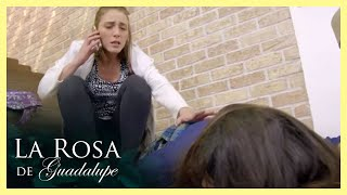 Alondra cae en la trampa de su tía Carolina   Dejando atrás el dolor   La Rosa de Guadalupe