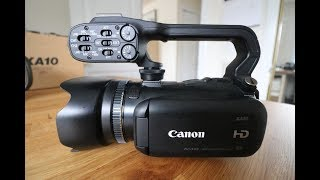 Canon XA10 Professional HD Camcorder Review