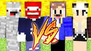 ALPHA & BENX VS EPICSTUN & DREEMTUM - Minecraft LUCKY BLOCK BEDWARS FINALE