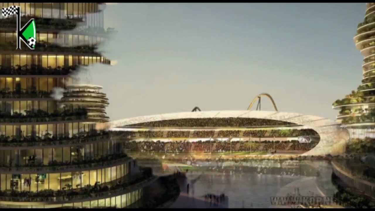 Real Madrid Dubai Island Resort Youtube