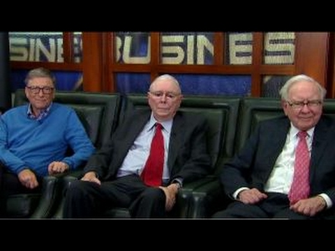 Buffett, Munger, Gates' thoughts on President Trump
