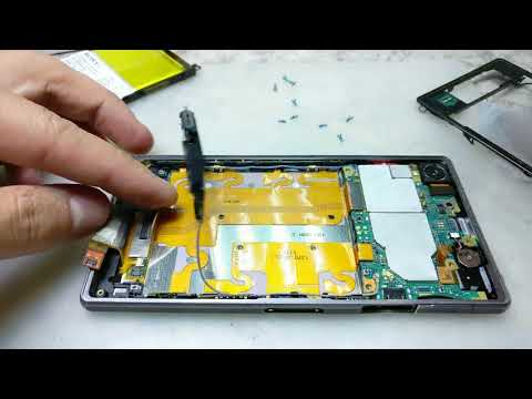 Sony Xperia Z1 C6903 Замена дисплея / Xperia Z1 Display Replacement