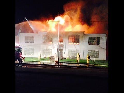 MY HIGH SCHOOL BURNED DOWN