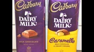 Cadbury: Milk Chocolate & Caramello Candy Bar Review