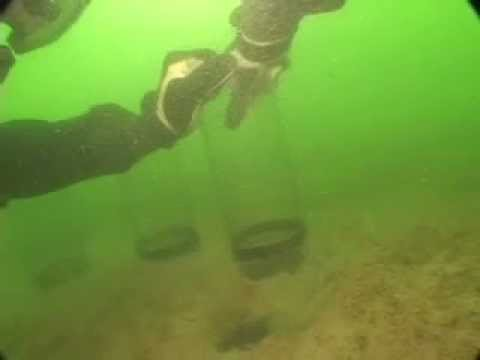Underwater Exploration : Core Sampling Seabed