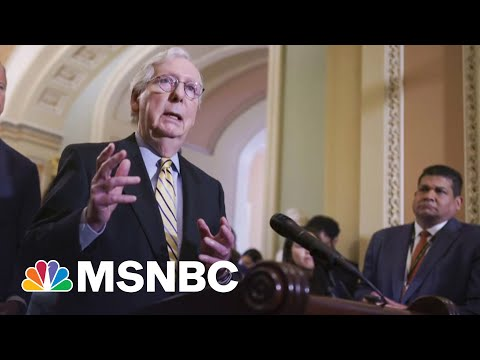 McConnell 'Trying To Make The Most Of' Biden's Infrastructure Walk-Back   MSNBC
