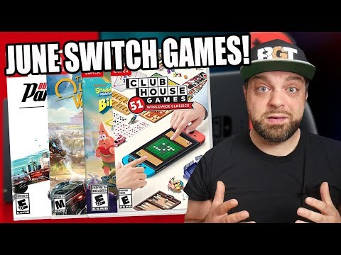TONS Of NEW Nintendo Switch Games For June 2020!