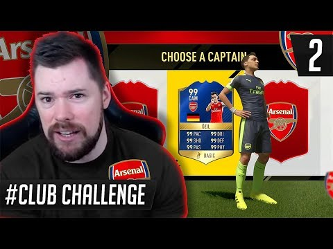 ARSENAL FC FUT DRAFT CLUB CHALLENGE #02
