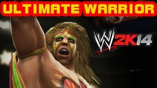 WWE 2K14 - Ultimate Warrior Entrance + Signature + Finisher - WWE 2K14 vorbestellen