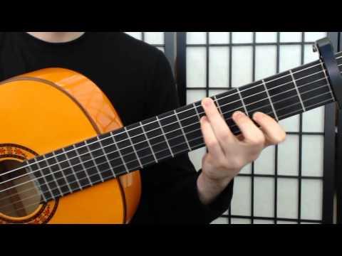 Vicente Amigo --- Roma (guitar tutorial)