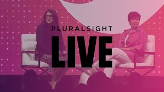 Pluralsight LIVE 2018 mainstage: Karenann Terrell, Chief Digital and Technology Officer at GSK