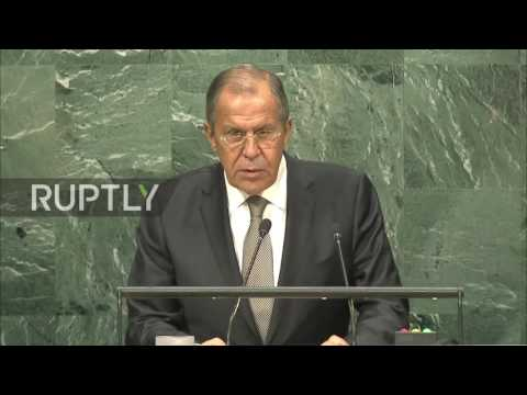 UN: Russia's Lavrov slams US double standards in UNGA address