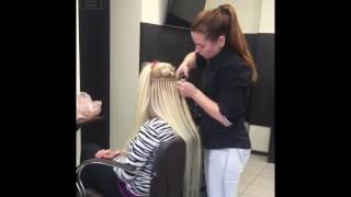 видео Наращивание волос в салонах Воронежа