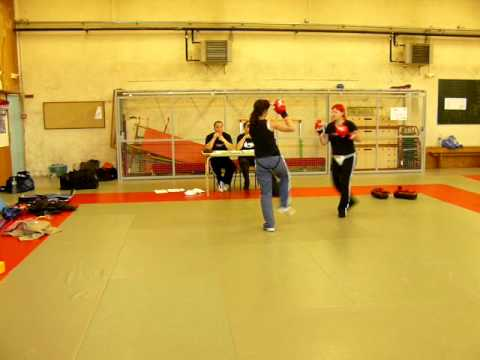 Self Defense - passage de grade ADAC Cholet.