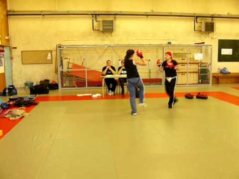 Self Defense - passage de grade ADAC Cholet.