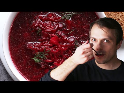 Borscht As Made By Andrew • Tasty