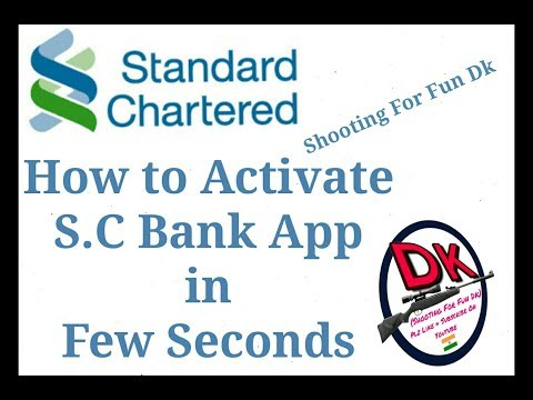 How to #Activate #Standard #Chartered #Bank #Mobile #App. #SC MOBILE INDIA #BREEZE
