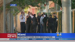 Miami Firefighter Found Dead