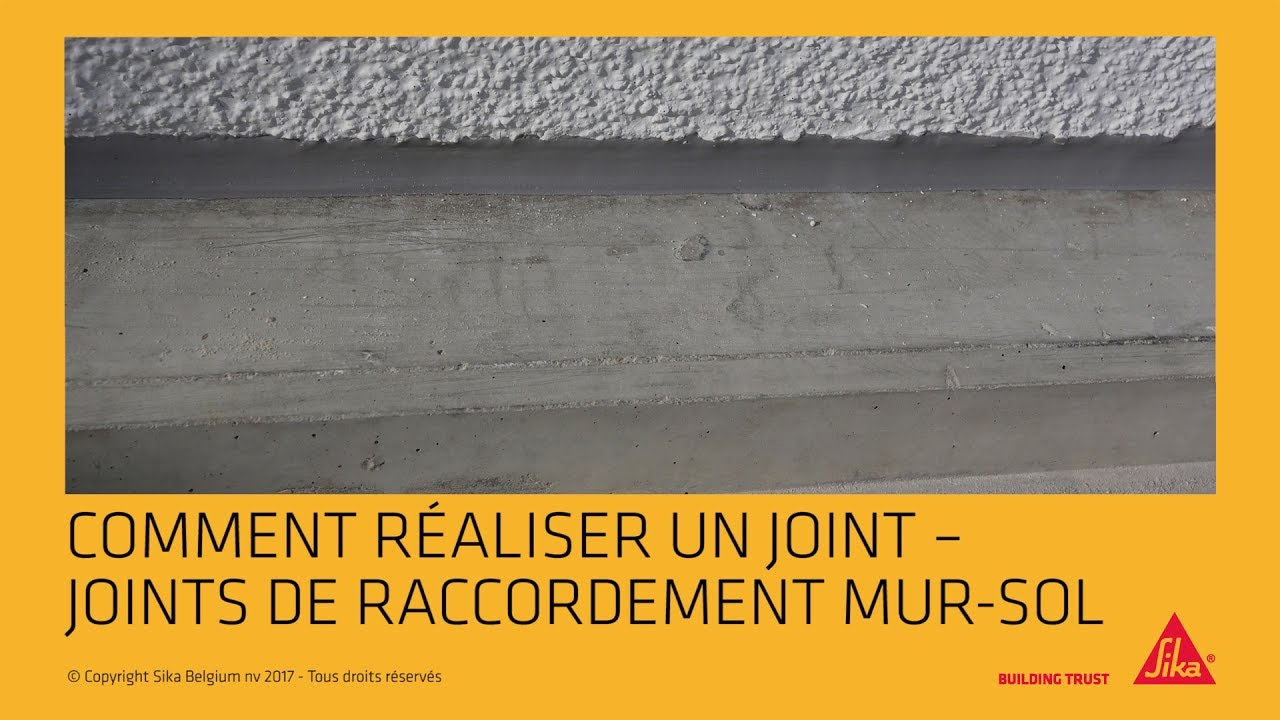 Dalle Beton Terrasse Joint De Dilatation Comment Réaliser Un Joint Joints De Raccordement Mur Sol