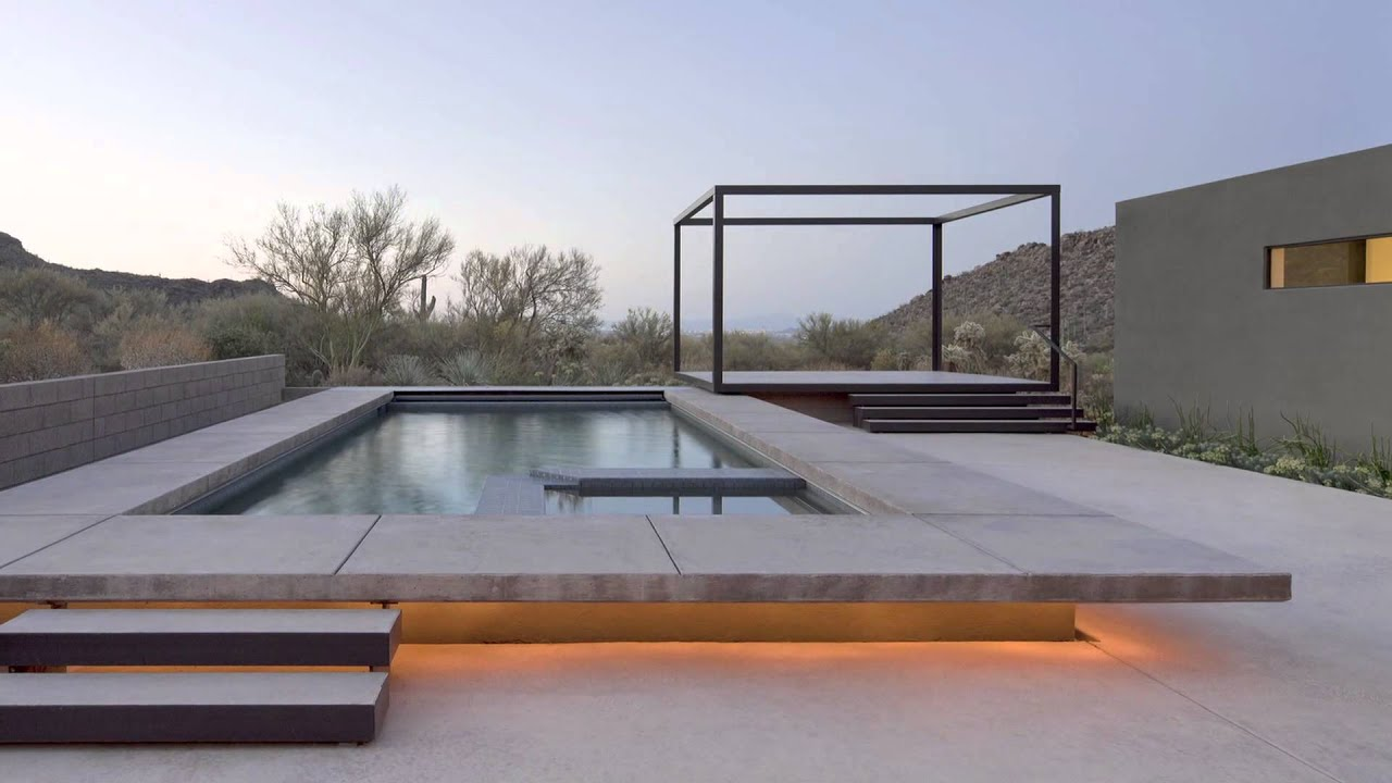 Awesome A Contemporary Desert Home In Arizona   YouTube
