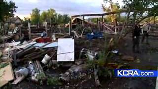 Tornado Rips Through Garage In Butte County