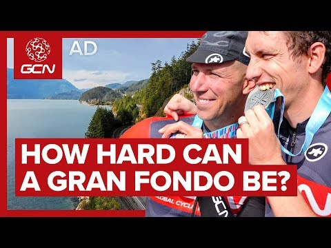Can We Qualify For The World Championships Of GranFondo? | GCN Rides RBC Whistler