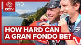 Can We Qualify For The World Championships Of GranFondo?GCN Rides RBC Whistler
