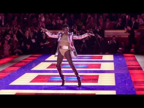 Zendaya, Grace Jones and more on the runway for the Tommy X Zendaya Fashion Show in Paris