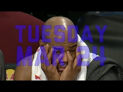 NBA Daily Show: Mar. 24 – The Starters