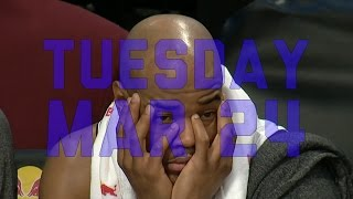 NBA: NBA Daily Show: Mar. 24 – The Starters