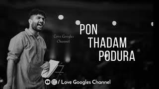 Sid Sriram   Ennadi Maayavi Nee   Whatsapp status   by Love Googles Channel