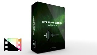 FCPX Audio Overlay Mystique 5K - Audio Reactive Flares for Final Cut Pro X - Pixel Film Studios
